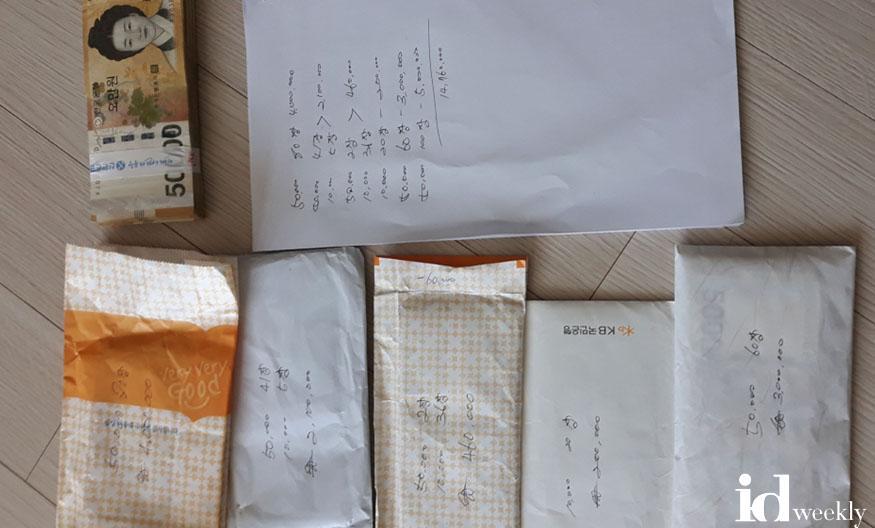 세원관리과-성남시 전문세원관리반이 가택수색에서 발견한 현금 뭉치.jpg
